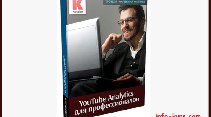 Запись вебинара «YouTube Analytics для профессионалов».